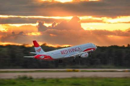 Новый рейс авиакомпании «Red Wings» Оренбург-Екатеринбург